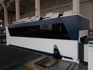 Aço carbono 1000 w aço inoxidável ferro cnc folha de metal da fibra máquina de corte a laser