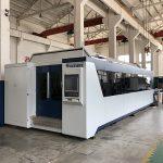 Máquina de corte do laser da fibra da chapa metálica do cnc de 500w 1kw 2kw 3kw 12mm