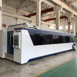 Máquina de corte do laser da fibra de 1500mmx3000mm com 500w, 700w, fonte de laser 1000w