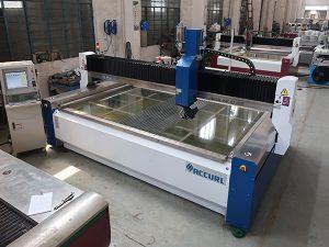 2000 * 1500mm 380 mpa abrasivo temperado e laminado de vidro de alta pressão CNC máquina de corte a jato de água