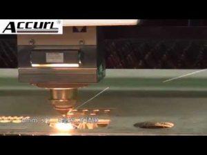 Máquina de corte do laser do metal 2000W para o aço suave, de aço inoxidável 12mm, laser do CNC da chapa de aço
