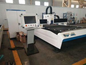 Cortador do laser da fibra 300w preço da máquina de corte do laser do aço inoxidável de 2mm 1530 1325