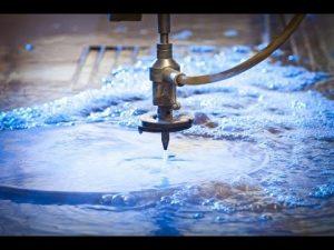Jato de jato de água da máquina-Água do CNC da linha central 3D 5 que corta jatos de água de aço inoxidável-de alta pressão