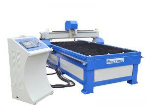 máquina de corte do chanfro do plasma do cnc do furo 3d da folha de metal