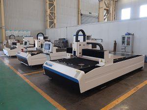 Preço da máquina de corte do laser da fibra 500w para o metal