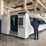 500 w 700 w 1kw, 2kw, 3kw, máquina de corte do laser da fibra óptica do cnc da folha de metal