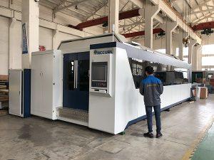 500 W 700 W 1kw, 2kw, 3kw, preço da máquina de corte do laser de fibra óptica do CNC da folha de metal com Trumpf, IPG