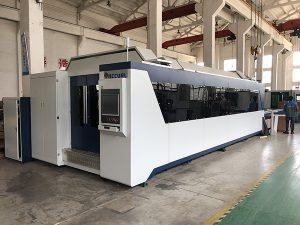 Máquina de corte de aço inoxidável 1500 * 3000mm do laser da fibra do metal do aço carbono de 500w 750w 1000w 2000w