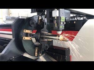 Máquina de corte do tubo do laser 700W - tubo do laser e máquina de corte da folha
