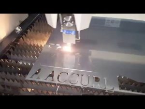 Máquina de corte do laser da fibra de ACCURL IPG 500w 700w - máquina de corte do laser do CNC para o aço suave 6mm