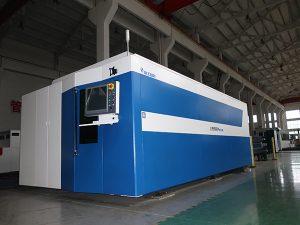 Máquina de corte 500w do laser da fibra do CNC 1000w 2000w 2000w 3000w suave / aço inoxidável / carbono