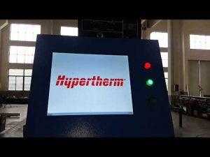 Máquina de Corte por Chama a plasma e OXY CNC com Hypertherm HyPerformance Plasma HPR400XD