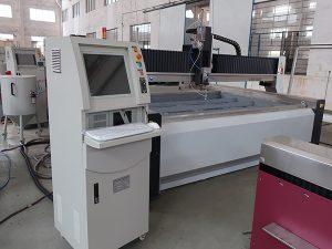 China forte estrutura cnc jato de água atc mármore máquina de corte preço da cozinha de pedra benchtops