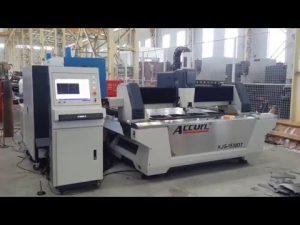Máquina de corte do laser da fibra 500W CNC para o aço suave da chapa metálica 6mm, de aço inoxidável, cobre, bronze