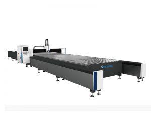 máquina de corte do laser da fibra da placa de metal 4kw com tabela de funcionamento 2000x6000mm