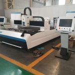 preço da máquina de corte do laser da chapa metálica da fibra