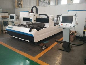 Máquina de corte do laser da chapa metálica da fibra