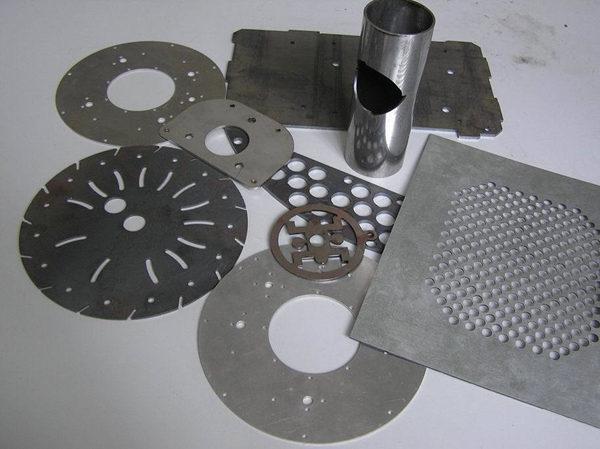 Amostra de máquina de corte a laser de fibra