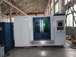 Máquina de corte quente do laser da fibra do modelo 4000w da venda
