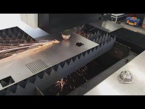 Como máquina de corte do laser do CNC da chapa metálica da fibra de China Accurl 700w 1000w para de aço inoxidável