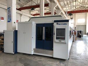 Grande potência 1000 W ~ 4000 W máquina de corte a laser de fibra para corte de folha de metal liso