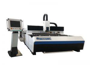 máquina de corte do laser da fibra do cnc para a máquina de corte do laser do tubo do metal
