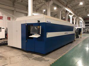 Metal de aço inoxidável do corte de máquina da fibra do cortador 500w do laser