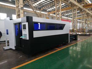 Máquina de corte de ferro de alumínio de cobre de aço a laser de fibra