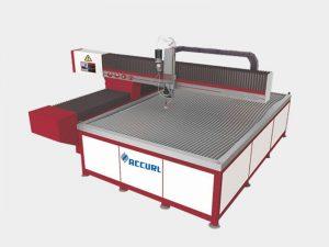 máquina de corte a jato de água abrasiva