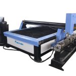 Pórtico barato metal plasma máquinas de corte passatempo cnc cortador de plasma de corte de metal preço da máquina