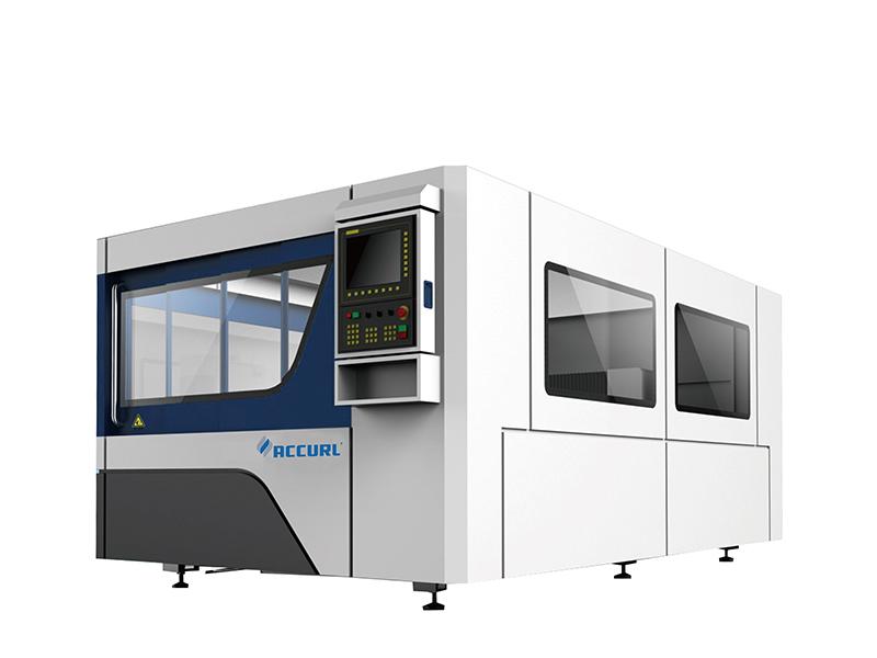 máquina de corte a laser de fibra cnc