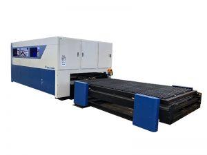cortador do laser da fibra do cnc 3015 6000w 8000w para o alumínio