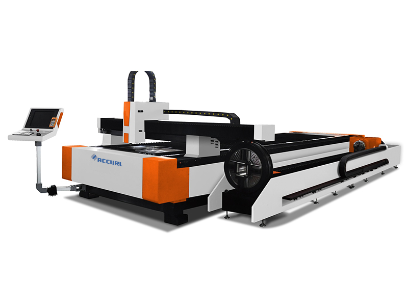 máquina de corte de tubos cnc