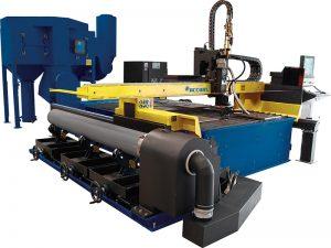 tipo tabela máquina de corte do plasma do cnc para a folha de metal