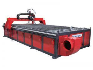 aço inoxidável / alumínio / chapa de ferro 1530 mesa cnc máquina de corte plasma com programa cad