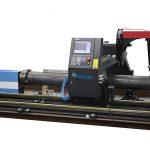 cortador do plasma do passatempo cnc, máquina de corte do tubo do plasma do cnc para o metal