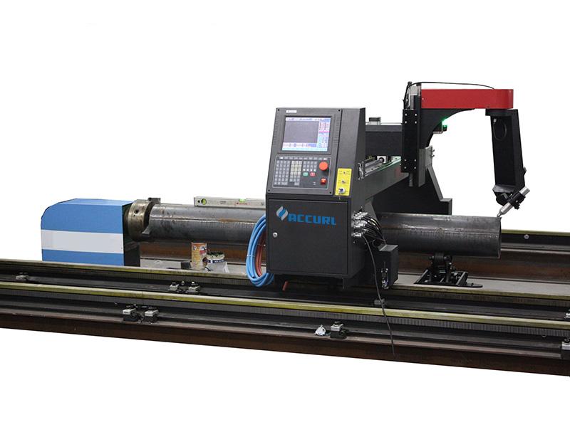 máquina de corte do tubo do plasma do cnc