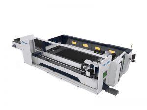 grande cortador do laser do cnc da máquina de corte do tubo do laser da fibra e gravador 6000w