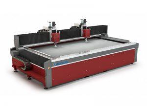 cortador automático do metal da água da máquina de corte do jato de água do cnc nenhuma zona afetada calor