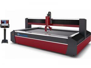 Máquina de corte do cnc do jato de água da máquina de corte do metal da linha central 5