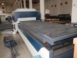 a fábrica fornece diretamente a máquina de corte do laser da fibra do aço carbono da porcelana