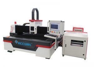 Máquina de corte da tubulação do laser da fibra do cnc 4000w com eixo da fibra raycus da porcelana 3