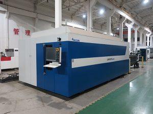 máquina de corte do aço carbono do laser da fibra