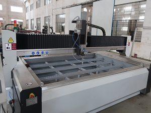 preço de vidro da máquina de corte do jato de água com bomba de KMT