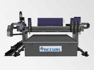 máquina de corte do metal do cnc da qualidade superior / máquina de corte plasma do cnc