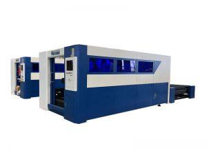tipo econômico máquina de corte do laser da fibra para a máquina do cortador do laser do aço / metal para venda