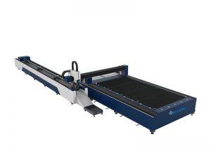 Alta qualidade industrial placa de metal fino corte de fibra cnc equipamentos de corte a laser