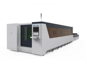 máquina de corte quadrada do laser da fibra do projeto da grade da janela do aço 2000w da tubulação