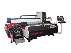 barato máquina de corte do laser da fibra do metal do cnc 500w