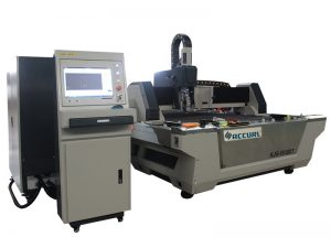 Máquina de corte do laser da fibra da folha e do tubo de metal usada no equipamento agrícola